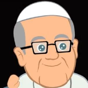 Papa francesco diventa un cartoon san francesco rivista