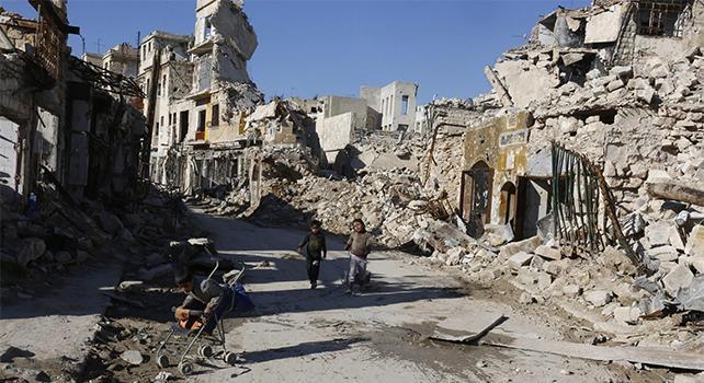 Risultati immagini per terre distrutte dalla guerra